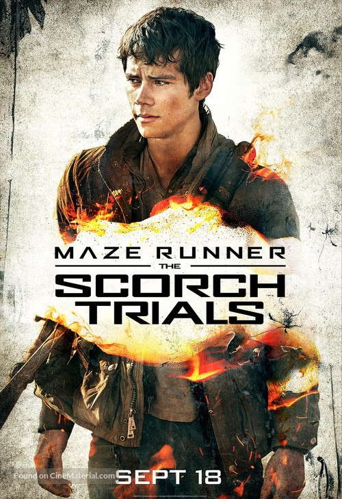 Maze Runner: The Scorch Trials - Character movie poster