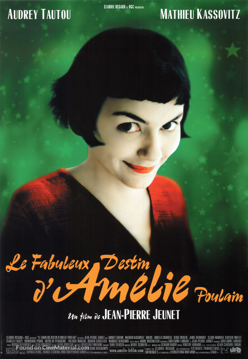 Le fabuleux destin d'Amélie Poulain - French Movie Poster