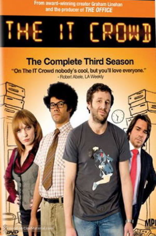"""The IT Crowd"" - DVD movie cover"