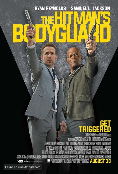 The Hitman S Bodyguard 2017 South African Movie Poster