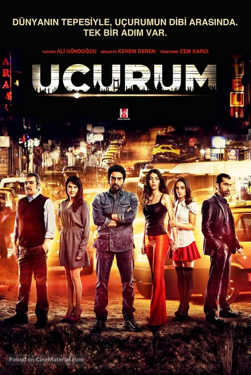 """Uçurum"" - Turkish Movie Poster"