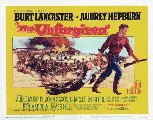 The Unforgiven - Movie Poster