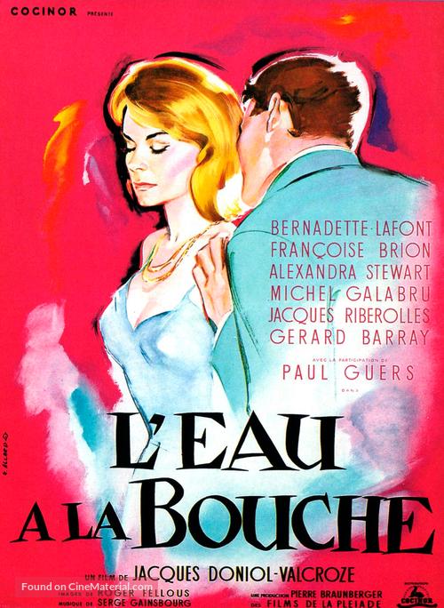L'eau à la bouche - French Movie Poster