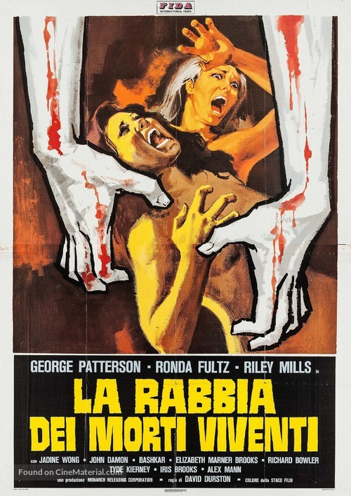 I Drink Your Blood - Italian Movie Poster