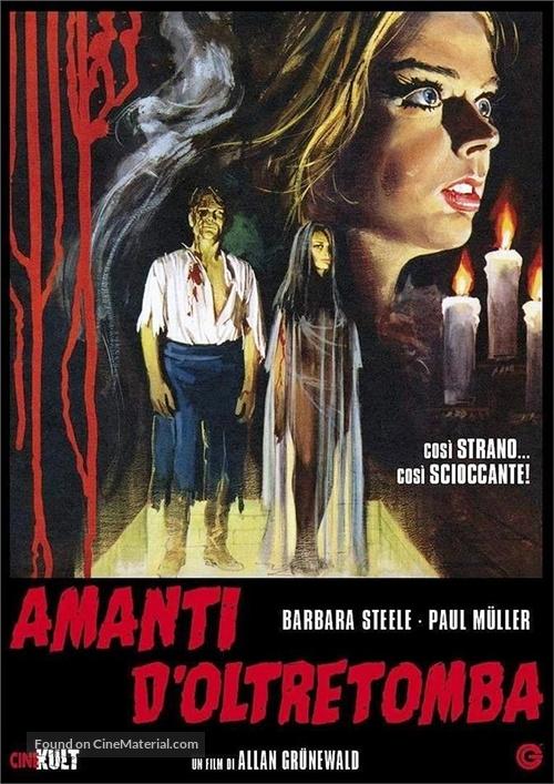 Amanti d'oltretomba - Italian DVD movie cover