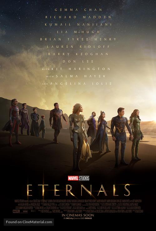 The Eternals - British Movie Poster
