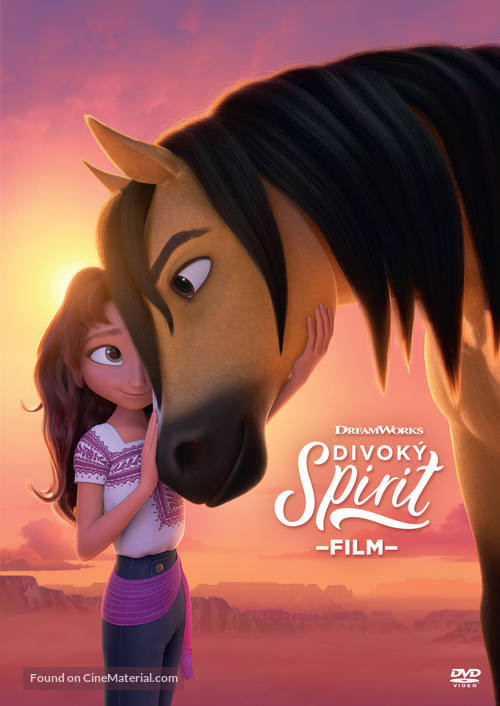Spirit Untamed - Czech DVD movie cover