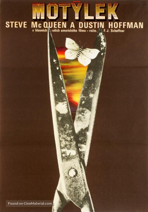 Papillon - Czech Movie Poster