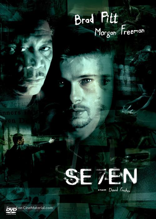 Se7en - DVD movie cover