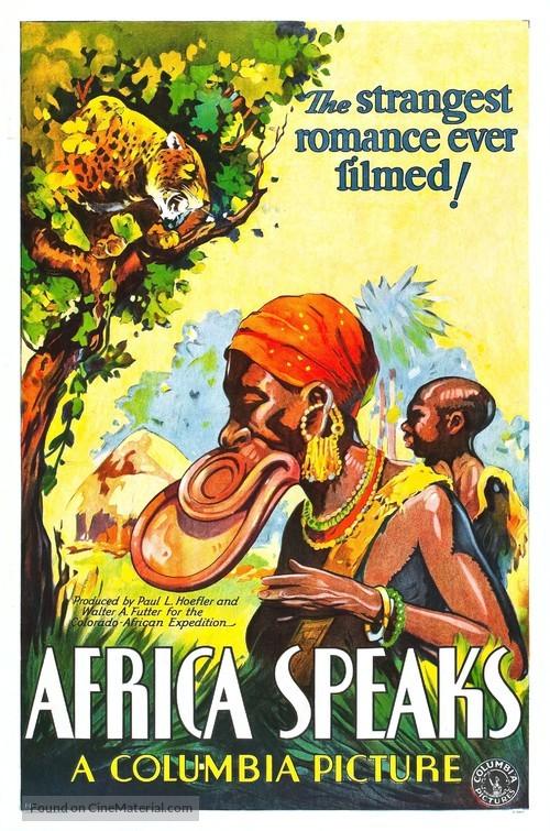 Africa Speaks! - Movie Poster