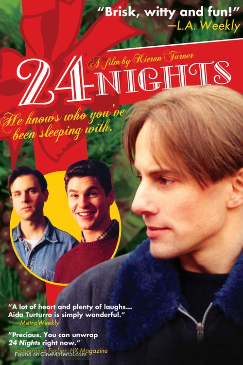 24 Nights - DVD movie cover