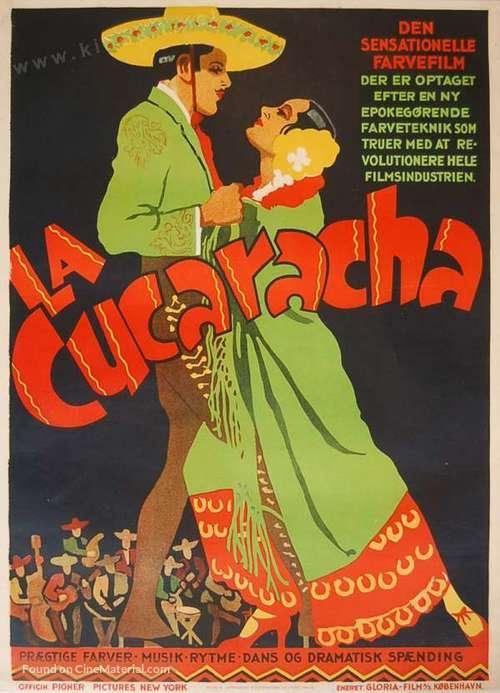 La Cucaracha - Danish Movie Poster