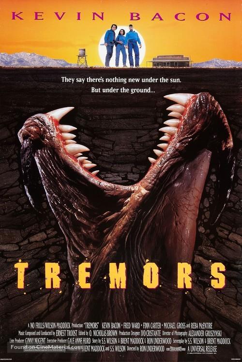 Tremors - Movie Poster