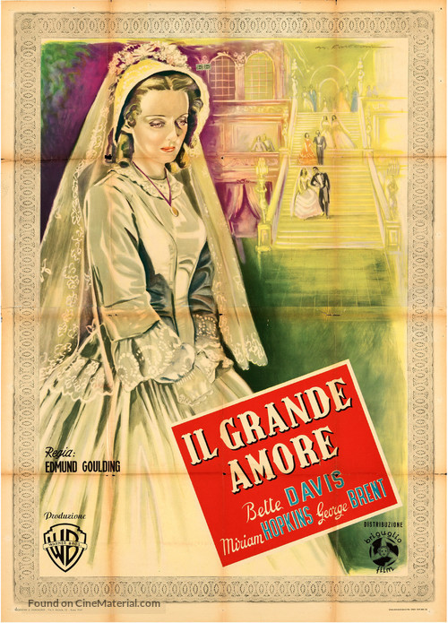 The Old Maid - Italian Movie Poster
