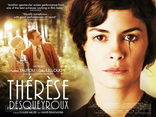 Thérèse Desqueyroux - British Movie Poster