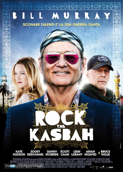 Rock the Kasbah - Italian Movie Poster