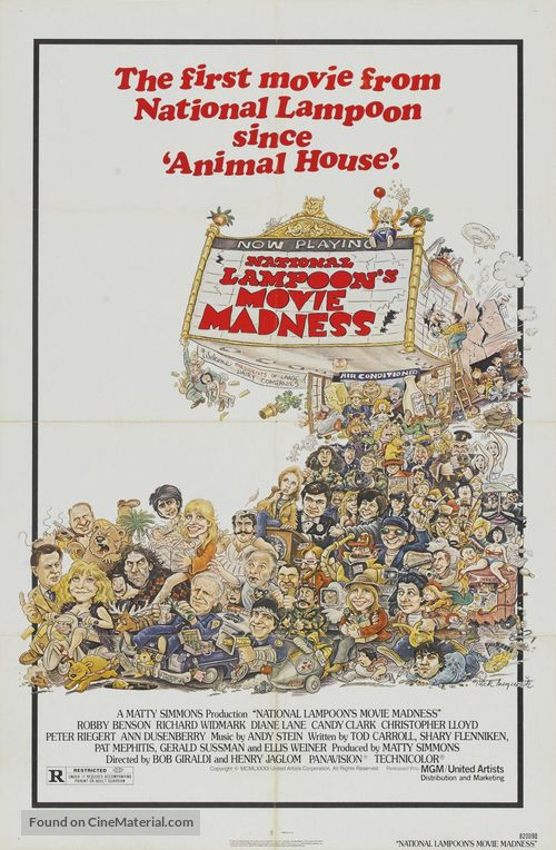 National Lampoon Goes to the Movies - Movie Poster