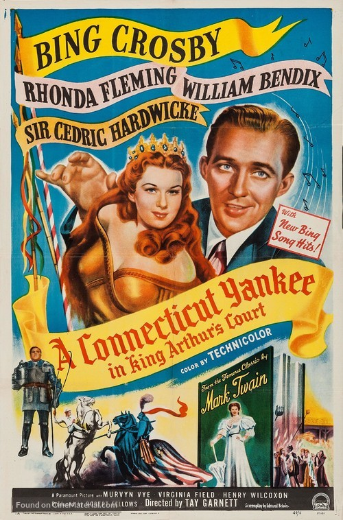 A Connecticut Yankee in King Arthur's Court - Movie Poster