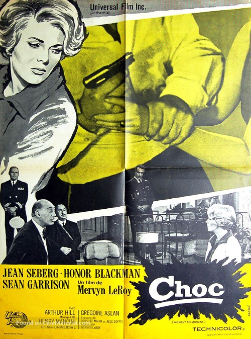 Moment to Moment - French Movie Poster