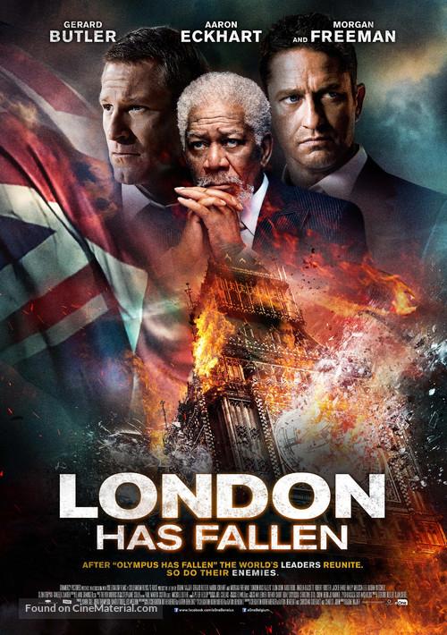 London Has Fallen - Dutch Movie Poster