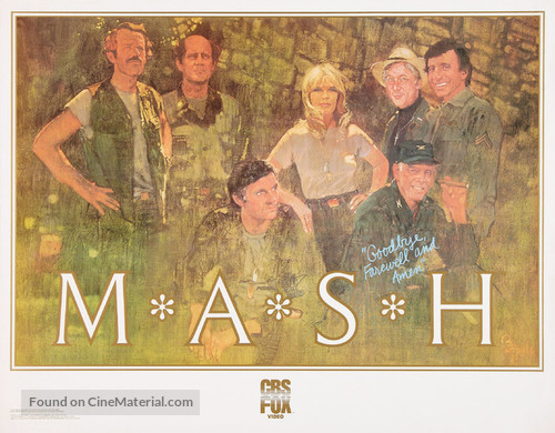 """M*A*S*H"" - Video release movie poster"
