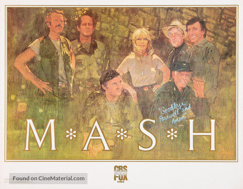 """""""M*A*S*H"""" - Video release poster"""