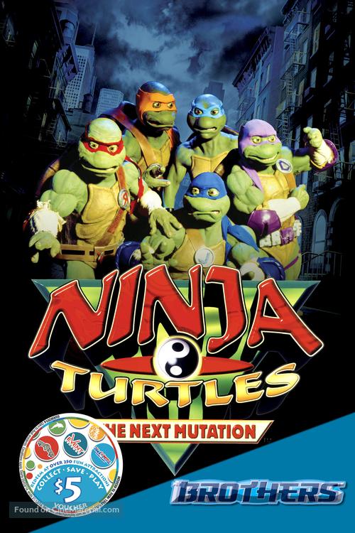 """Ninja Turtles: The Next Mutation"" - Movie Poster"