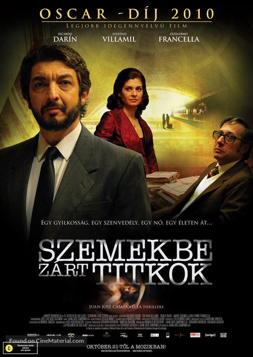 El secreto de sus ojos - Hungarian Movie Poster