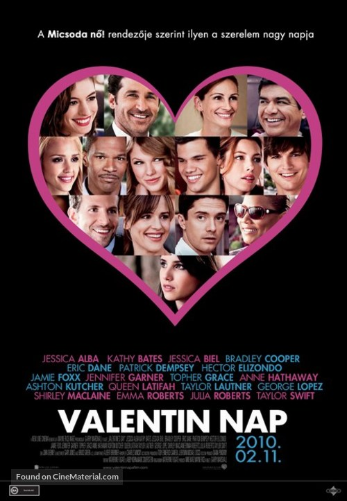 Valentine's Day - Hungarian Movie Poster