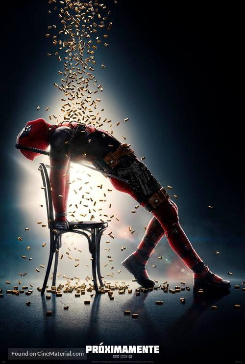 deadpool 2 mexican movie poster