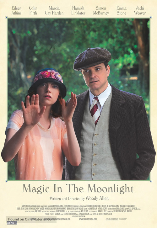 Magic in the Moonlight - Canadian Movie Poster