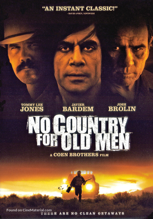 No Country for Old Men - DVD movie cover