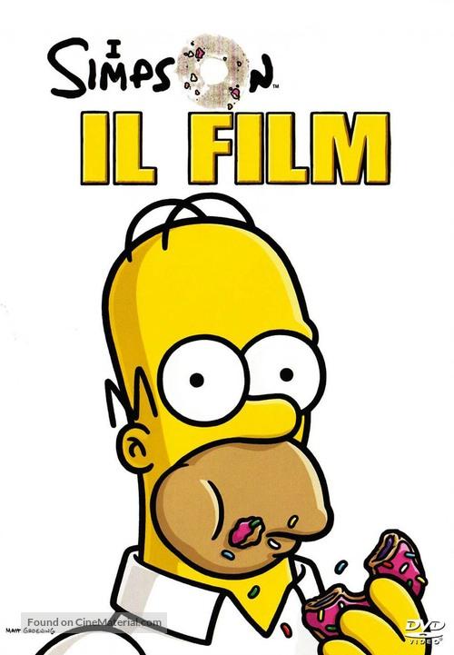 The Simpsons Movie - Italian Movie Cover