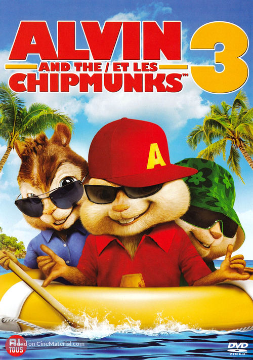 Alvin And The Chipmunks Chipwrecked 2011 Dutch Dvd Movie Cover