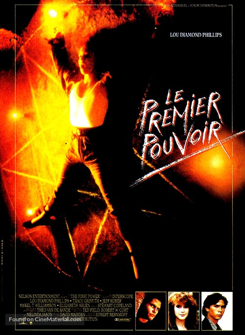 The First Power - French Movie Poster