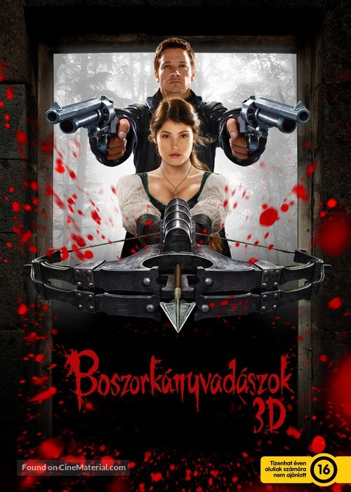 Hansel & Gretel: Witch Hunters - Hungarian Movie Poster