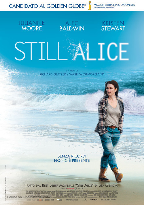 Still Alice - Italian Movie Poster