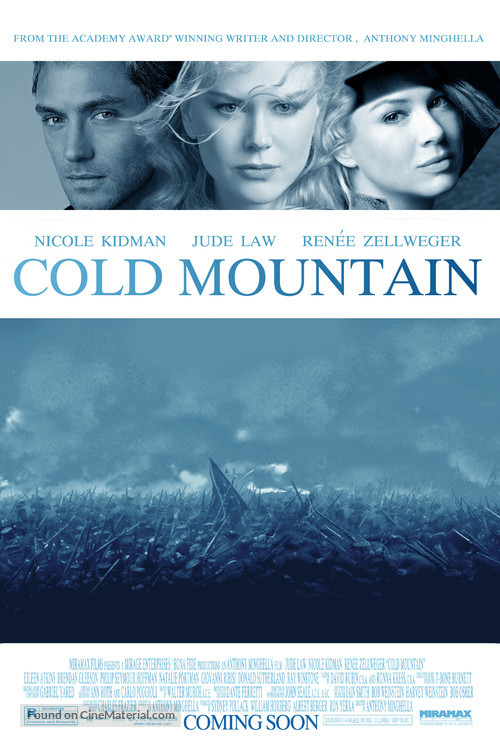 Cold Mountain 2003 Movie Poster