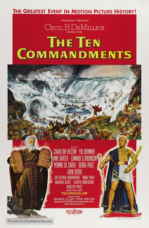 The Ten Commandments - Theatrical poster