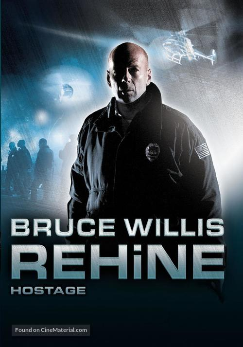 Hostage - Turkish DVD cover