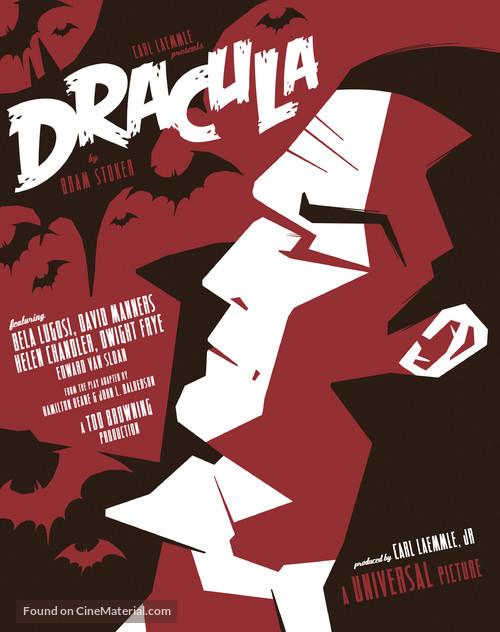Dracula - Homage movie poster