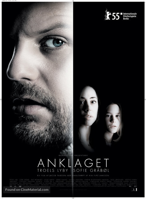 Anklaget - Danish Theatrical movie poster