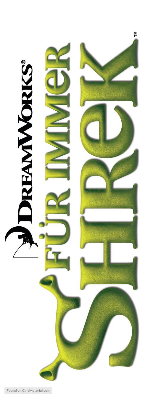 Shrek Forever After - German Logo