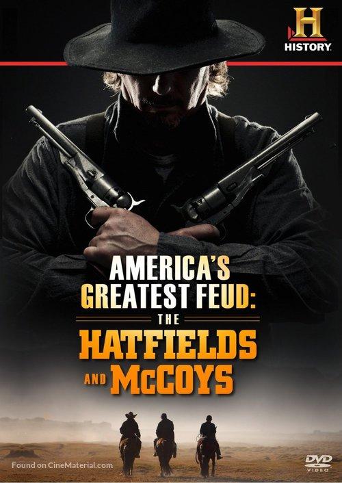"""Hatfields & McCoys"" - DVD movie cover"