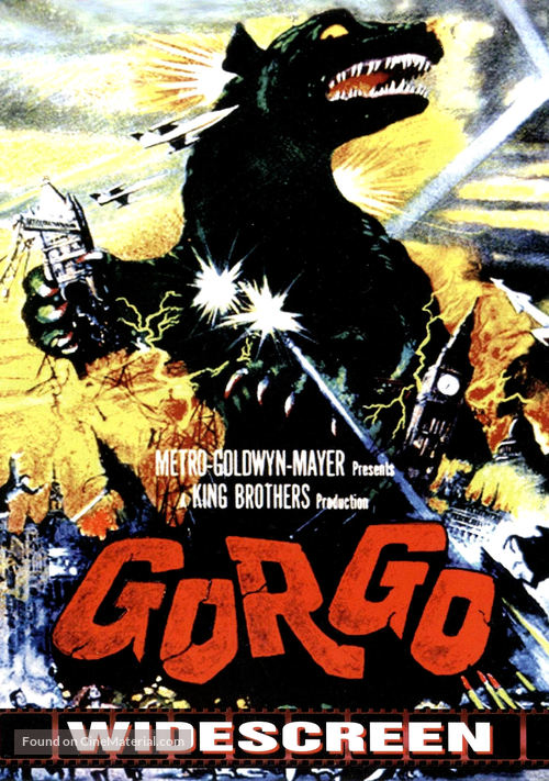 Gorgo - DVD movie cover