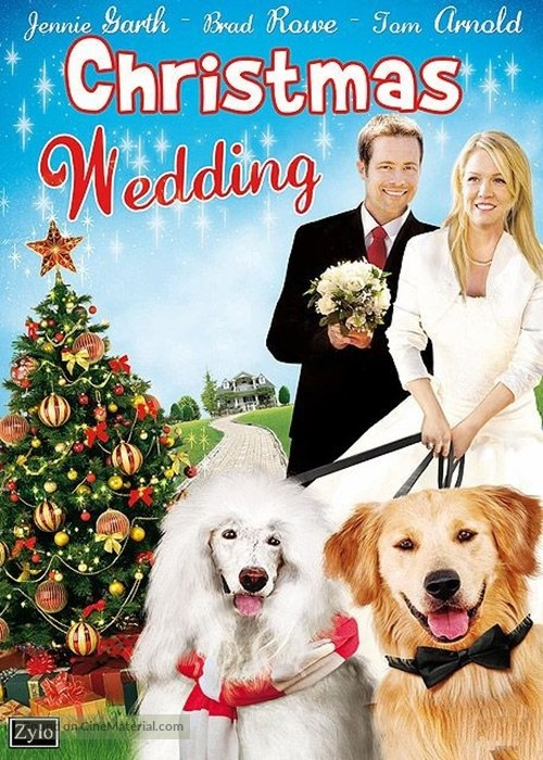 A Christmas Wedding Tail - French DVD movie cover