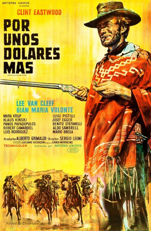 Per qualche dollaro in più - Argentinian Movie Poster