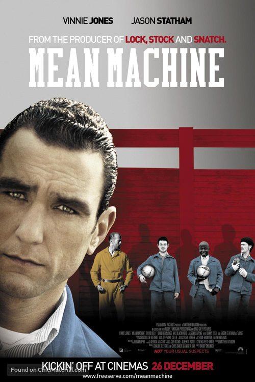 Mean Machine - British Movie Poster
