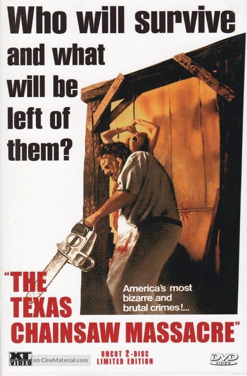 The Texas Chain Saw Massacre - Austrian DVD movie cover