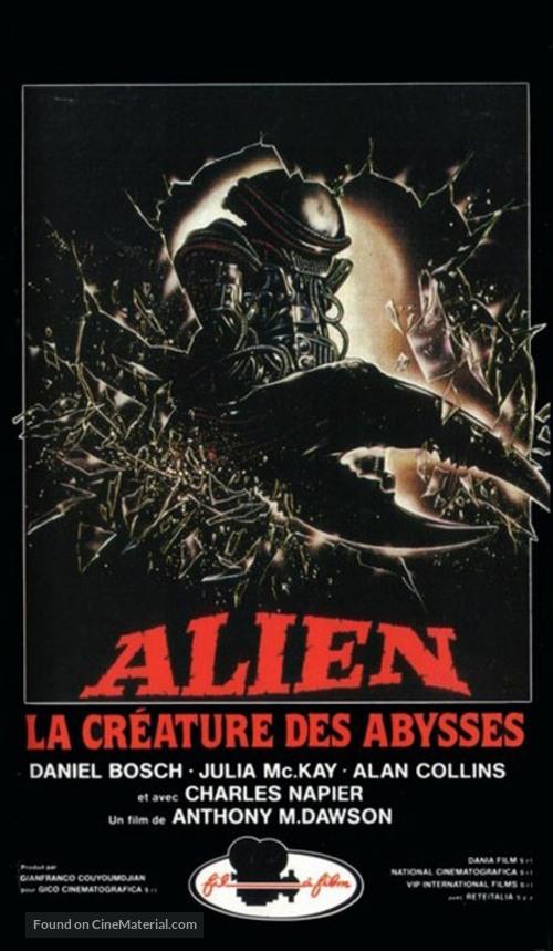 Alien degli abissi - French Movie Poster